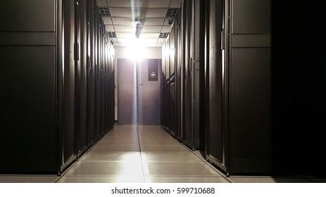 Emergency light power on in Server room