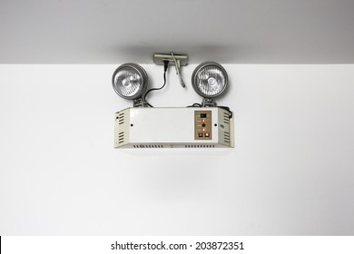 emergency lights with two lamps