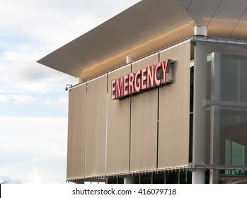 Emergency Medical Center Building Sign Health Care Hospital