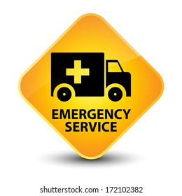 Emergency service yellow button