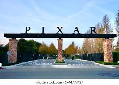 Emeryville California - NOV/25/2016 : Pixar Animation Studios
