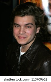"""Emile Hirsch at the World Premiere of """"Alpha Dog"""". Arclight Hollywood, Hollywood, CA. 01-03-07"""