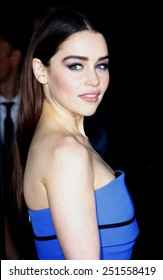 """Emilia Clarke at the Season 3 Premiere of HBO's """"Game of Thrones"""" held at the TCL Chinese Theater in Hollywood, California, United States on March 19, 2013."""