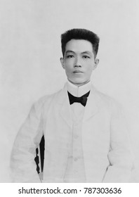 Emilio Aguinaldo, Philippine nationalist and President of the First Philippine Republic. He led rebellions against Spanish and American colonial occupations from 1896-1900. He is considered the first