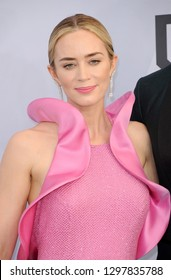 Emily Blunt at the 25th Annual Screen Actors Guild Awards held at the Shrine Auditorium in Los Angeles, USA on January 27, 2019.