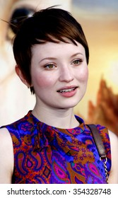 "Emily Browning at the LA premiere of ""Legends of the Guardians: The Owls of Ga'Hoole"" held at the Grauman's Chinese Theater in Hollywood, USA on September 19, 2010."