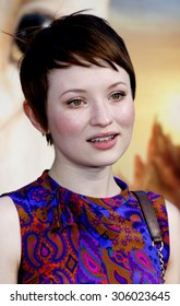 Emily Browning at the Los Angeles premiere of 'Legends of the Guardians: The Owls of Ga'Hoole' held at the Grauman's Chinese Theater in Hollywood, USA on September 19, 2010.