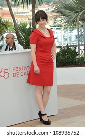 "Emily Hampshire at the photocall for her new movie ""Cosmopolis"" in competition at the 65th Festival de Cannes. May 25, 2012  Cannes, France Picture: Paul Smith / Featureflash"