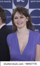 EMILY MORTIMER at the 2004 IFP Independent Spirit Awards on the beach at Santa Monica, CA. February 28, 2004
