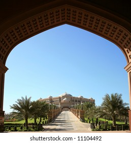 Emirates Palace View From VIP Gate