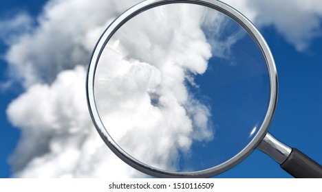 Emissions are controlled, symbolic image