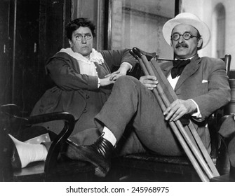 Emma Goldman and Alexander Berkman, Prominent leftist anarchist were convicted of conspiracy against the Military U.S. draft law. They were sentenced to two years in prison and fined $10,000 each.