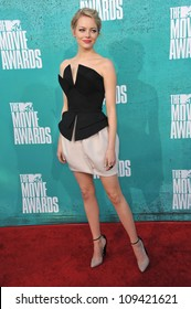 Emma Stone at the 2012 MTV Movie Awards at Universal Studios, Hollywood. June 4, 2012  Los Angeles, CA Picture: Paul Smith / Featureflash