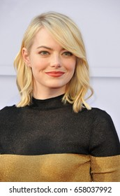Emma Stone at the AFI Life Achievement Award Gala Tribute To Diane Keaton held at the Dolby Theatre in Hollywood, USA on June 8, 2017.