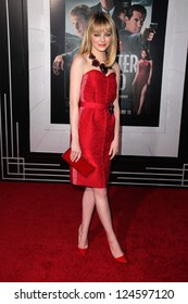 "Emma Stone at the ""Gangster Squad"" Los Angeles Premiere, Chinese Theater, Hollywood, CA 01-07-13"