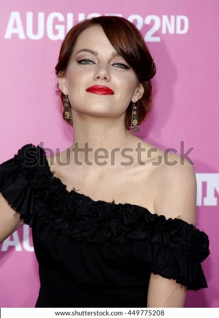 Swell Emma Stone Los Angeles Premiere House Stockfoto Jetzt Beutiful Home Inspiration Ommitmahrainfo