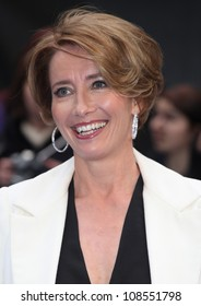 Emma Thompson arriving at the Men In Black 3 Premiere, at Odeon Leicester Square, London. 16/05/2012 Picture by: Alexandra Glen / Featureflash
