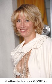 "EMMA THOMPSON at the Los Angeles premiere of her new movie ""Stranger than Fiction"". October 30, 2006  Los Angeles, CA Picture: Paul Smith / Featureflash"
