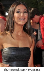 Emmanuelle Chriqui at the 2011 ESPY Awards at the Nokia Theatre LA Live in downtown Los Angeles. July 13, 2011  Los Angeles, CA Picture: Paul Smith / Featureflash