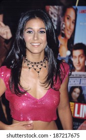 Emmanuelle Chriqui at premiere of ON THE LINE, NY 10/09/2001