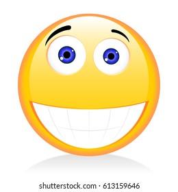 Emoji, emoticon - laughter