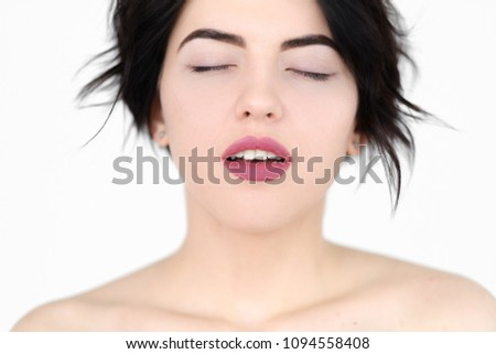 Not Real facial expressions of female orgasms