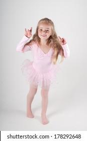 Emotional ballet dancer
