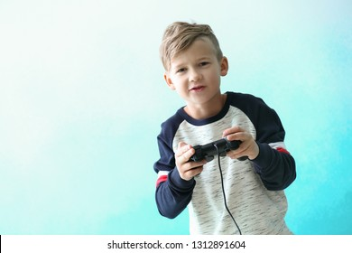 Kids Playing Video Games Stock Photos Images Photography