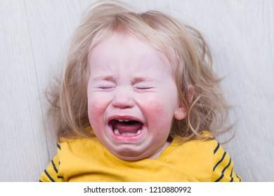 emotional crying baby