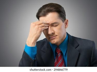 Emotional Stress, Businessman, Men.