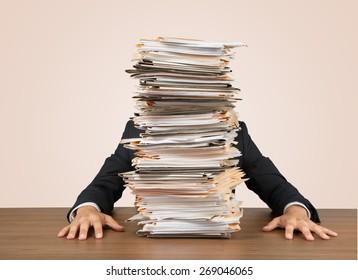 Emotional Stress, Paperwork, Frustration.