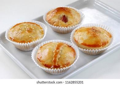 Empadinha, traditional Brazilian snack
