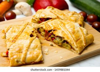 Empanada de verdura gallega. Spanish Tapa