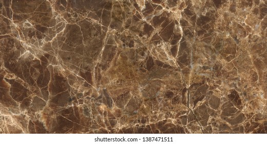 Emperador marble surface. Brown marble background