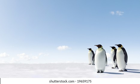 Emperor Penguins in Antacrctica