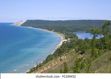 Empire Bluffs, Sleeping Bear Dunes National Lake shore - Empire, Michigan, USA