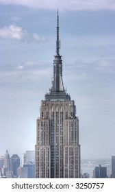 Empire State Building, NYC where King Kong would visit