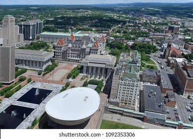 Empire State Plaza, New York State capitol complex in Albany