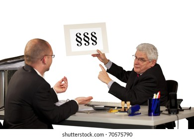 employee asking for more money with boss insisting on minimum wage