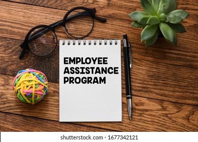 Employee Assistance Program business text concept.