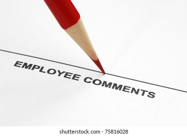 Employee comments