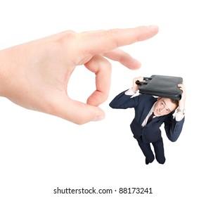 Employee getting fired