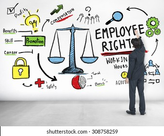 Employee Rights Employment Equality Job Businessman Ideas Concept