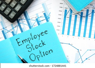 Employee Stock Option ESO is shown on the conceptual business photo