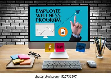 Employee Wellness program and Managing Employee Health ,  wellness concept