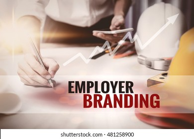 Employer Branding text in frame.