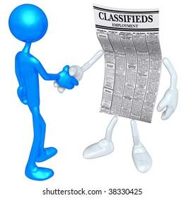 Employment Classifieds Handshake