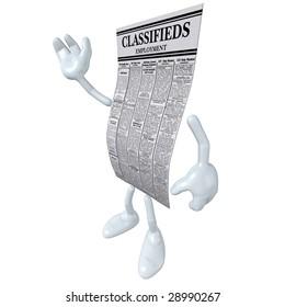 Employment Classifieds Waving