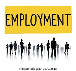 Employment Recruitment Human Resources Hiring Concept