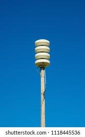 Emporia, Kansas, USA, October 12, 2013Tornado warning siren